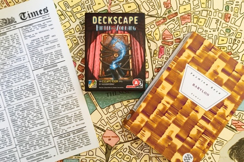 Consulting Detective, Deckscape und Babylon